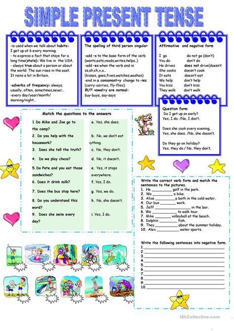 Present Simple Tense Worksheet  Free Esl Printable Worksheets Made By Teachers