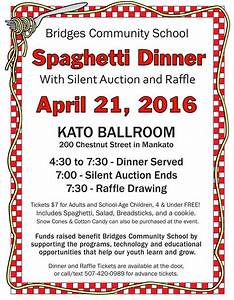 Spaghetti Fundraiser Flyer Template PDF - Bing images