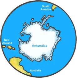 Southern Hemisphere World Map