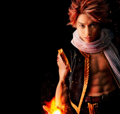 fairy tail heros abs   hot   flames