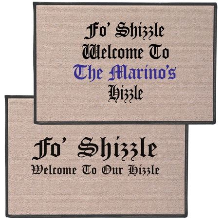 Fo Shizzle Doormat by 44 Best S Accessories Images On S