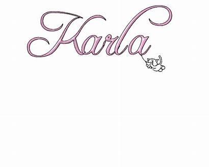 Karla Nombre Imagenes Letra Letras Nombres Bonitas
