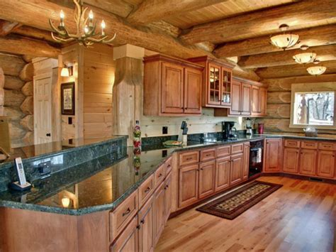 log cabin kitchen images 16 amazing log house kitchens you to see hick country