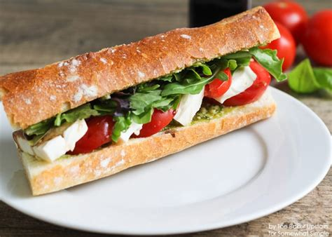 caprese sandwich caprese sandwich the best recipe ever by somewhat simple