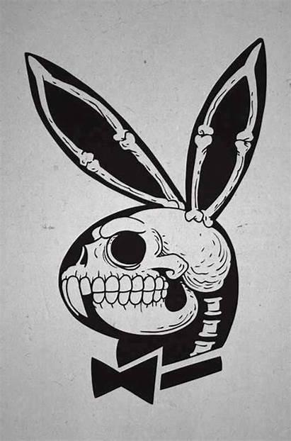 Playboy Tattoo Rabbit Skeleton Inside Tattooimages Biz