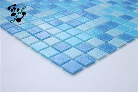 smh14 cobalt blue iridescent mosaic glass mosaic outdoor