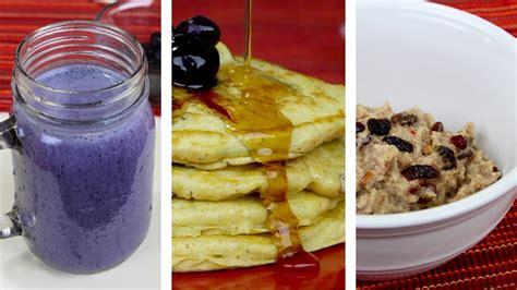 3 Desayunos Con Avena