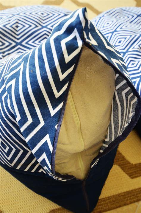 textile tuesday diy bean bag chairs slightly coastal