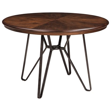 ashley furniture round table signature design by ashley centiar d372 15 round dining