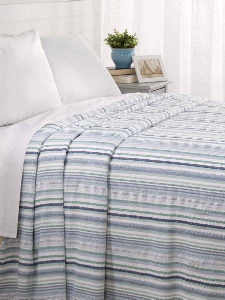 seersucker bedspreads pastel striped cotton seersucker bedspread