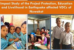 Impact Study of the Project Protection, Education and ...