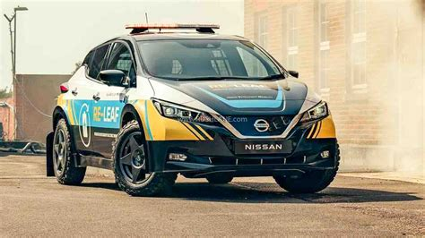 Nissan Leaf Electric Modified As A Disaster Recovery ...