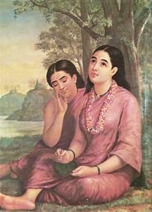 Indian Heritage - PAINTINGS BY RAJA RAVI VARMA