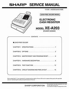 Service Manual Model Xe