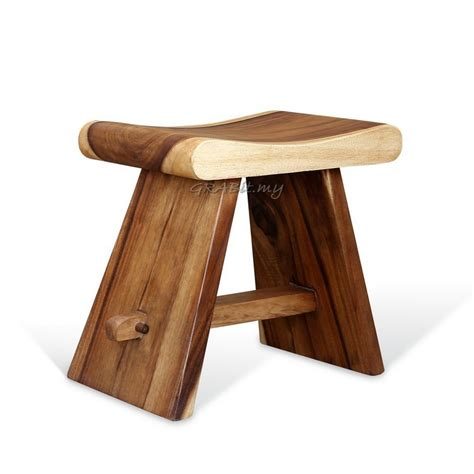 Asian Storage Bench by Rain Tree Japanese Stool Wood Stool Amp Bench Other