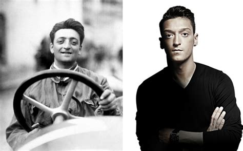 Exactly three months after ferrari died, mesut ozil, the footballer was born in another country. Enzo Ferrari and Mesut Ozil 2 - Unbelievable Facts