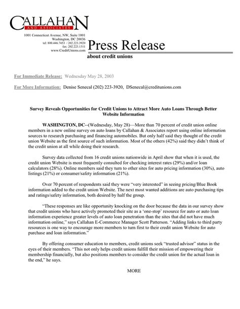 press release template  word   formats