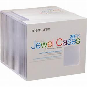 Memorex Case Template Memorex Cd Dvd Slim Case Clear 30 Pack 01931 B H