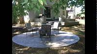patio design ideas Concrete Patio Designs | Stamped Concrete Patio Designs ...