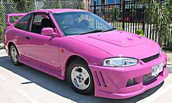 Souped Up Mitsubishi Eclipse by Featured Pink Car Auctions Sales