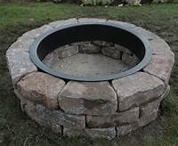 fire pit rings How to Build a Fire Pit Ring