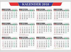kalender2018masehi 2018 Calendar printable for Free