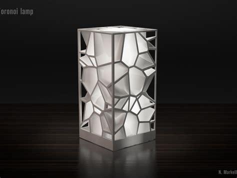 Home Decor 3d Printing : Voronoi Lamp By Markellov