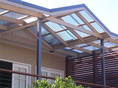 polycarbonate patio roof panels polycarbonate roof panels homesfeed