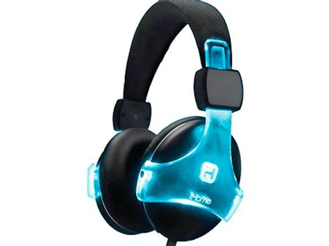 light up headphones ib37 color changing rechargeable headphones w mic