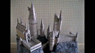 easy floor plan paper model of the hogwarts school castle from the