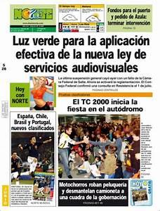 Peri U00f3dico Diario Norte  Argentina   Peri U00f3dicos De Argentina  Edici U00f3n De S U00e1bado  26 De Junio De