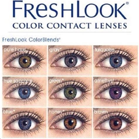 hazel color contacts hazel freshlook colorblend contacts hazel