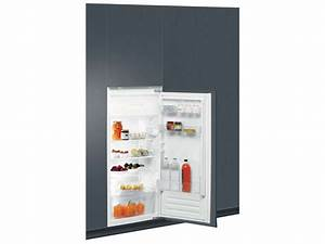 Refrigerateur Encastrable 1 Porte : r frig rateur 1 porte int grable laden ar124a chez conforama ~ Dailycaller-alerts.com Idées de Décoration