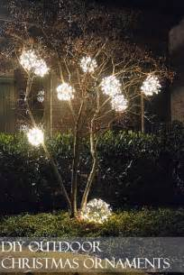 ornate over sized ornaments to lighten up your outdoor