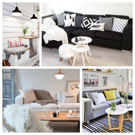 coussin sur canapé gris coussin scandinave décoration salon déco clem around