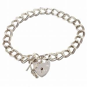 Charm School Uk > Silver Charm Bracelets > Chunky 925 ...