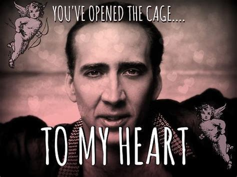 Nic Cage Meme - nicolas cage irony is a poor master