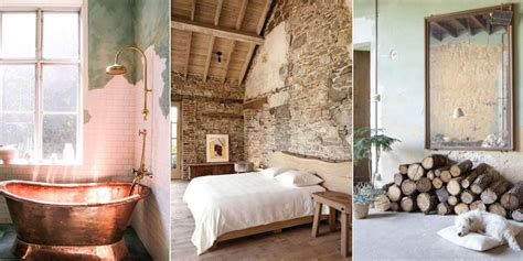 rooms  rustic unfinished walls  raw wall