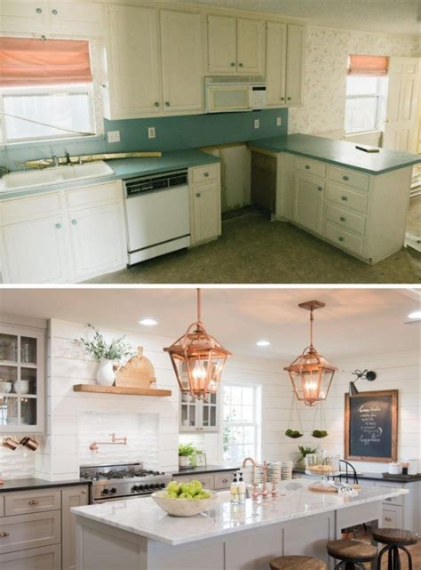 Kitchen Before And After by 20 Small Kitchen Renovations Before And After Diy