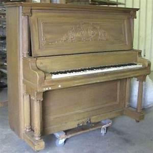 Shoninger Colonial Style Upright Piano – Antique Piano Shop