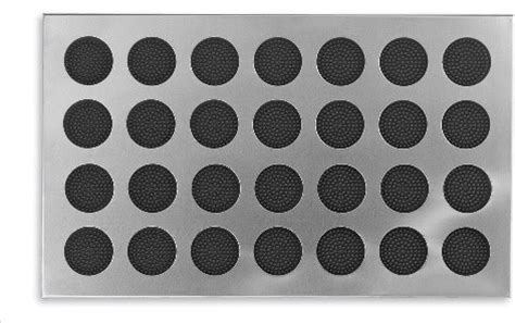 Steel Doormat by Stainless Steel Door Mat With Rubber Circles