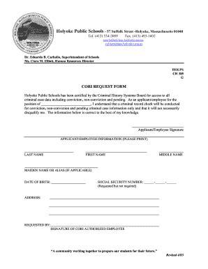 cori background check where to bring holyoke cori form fill printable