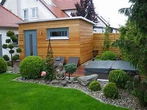 Sauna Für Garten : ein beliebter platz f r heim saunen ist der garten zum beispiel integriert in ein ~ Markanthonyermac.com Haus und Dekorationen