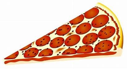 Pizza Clip Cheese Clipart Slice Cliparts Triangle