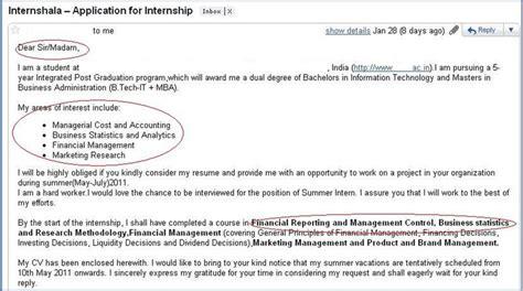 how not to apply for an internship 3 internshala