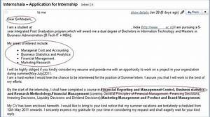 how not to apply for an internship 3 internshala blog With cover letter for mba summer internship