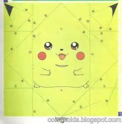Pokemon Origami Pikachu Instructions