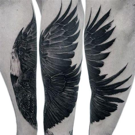 bald eagle tattoo designs  men ideas  soar high