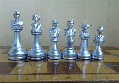 Chess Star Wars Pieces Sets Cool Handmade