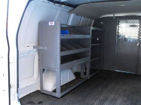 purchase   gmc safari awd cargo van ladder racks